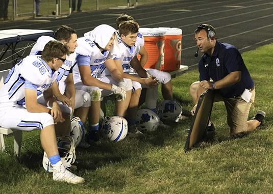 Spartan Football Coach Eric Lyons