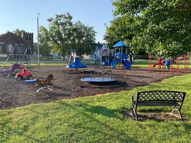 Waynesville's Gingerbread Park