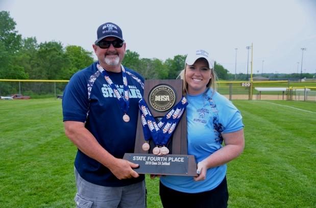 Softball Asst. Coach Darrel Dubree