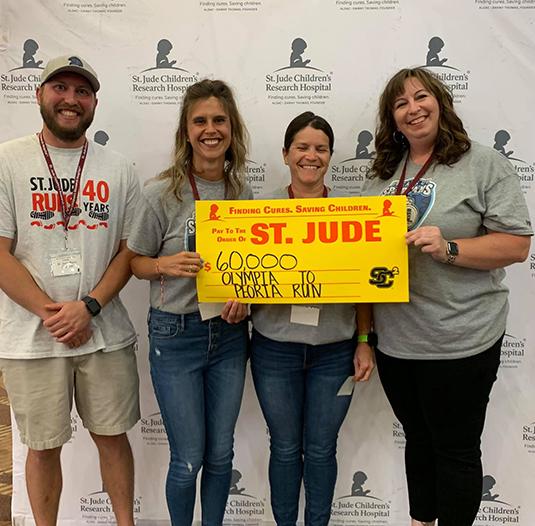 St. Jude Olympia to Peoria Run