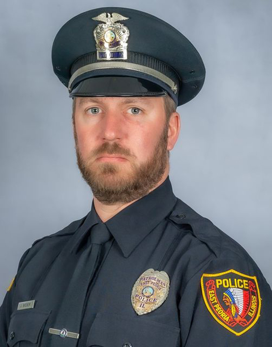 Jeffrey Bieber Named Officer of the Year