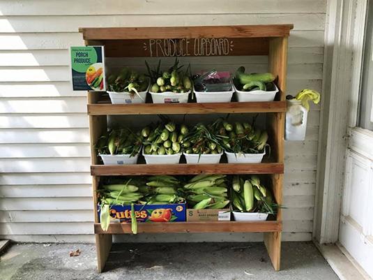 Porch Produce Pantry