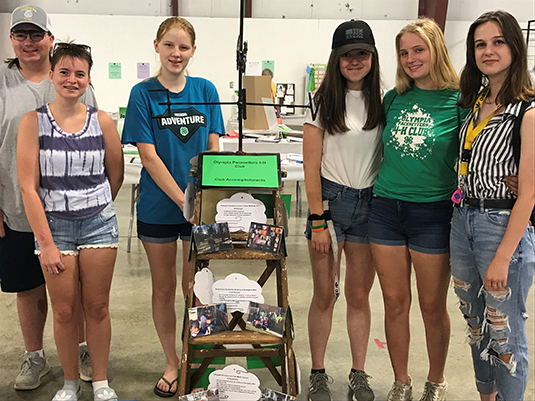 Pacesetters 4-H Club at County Fair