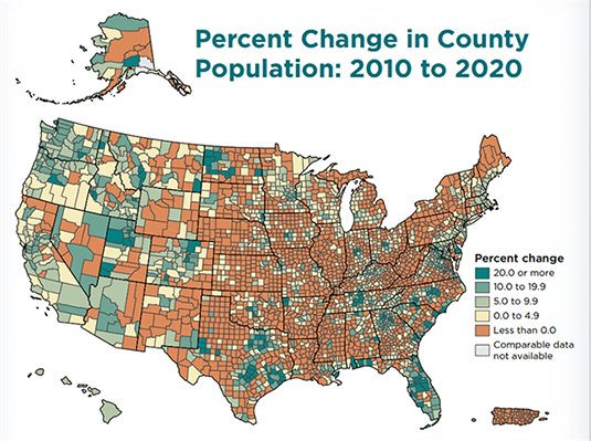 Census Shows Population Drops in Most Illinois Counties