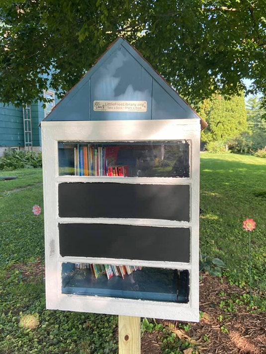 Free Library Opens