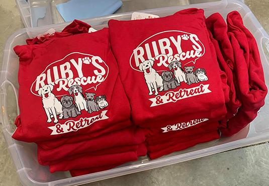 Ruby's Rescue Plans Silent Auction