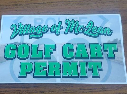 Golf Cart Inspection