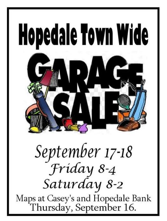 Town Wide Fall Garage Sale