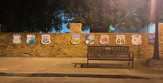 Vandalism At Route 66 Park