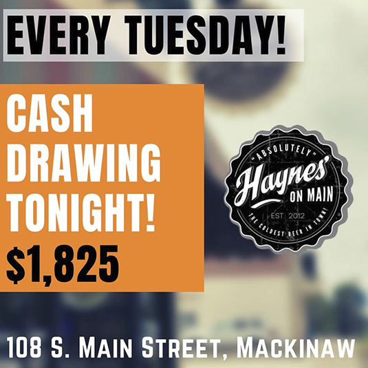 Tuesday Night Cash Drawing
