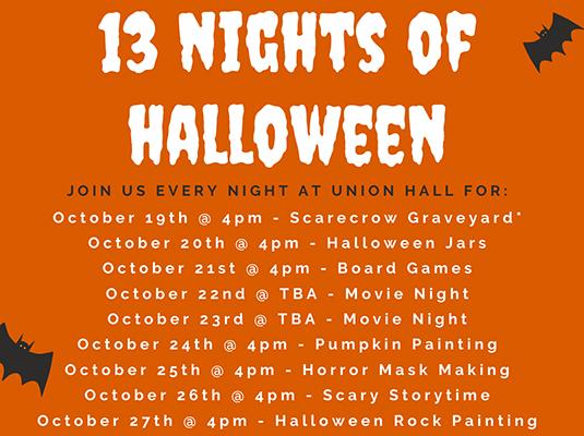 13 Nights of Halloween