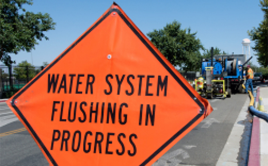 Water Main Flushing