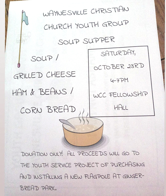Youth Group Soup Supper